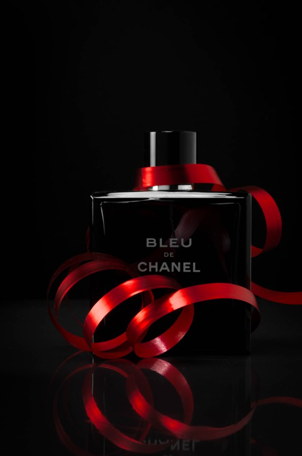 parfume chanel product photography