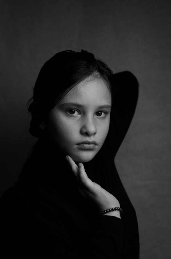 fine art woman portrait